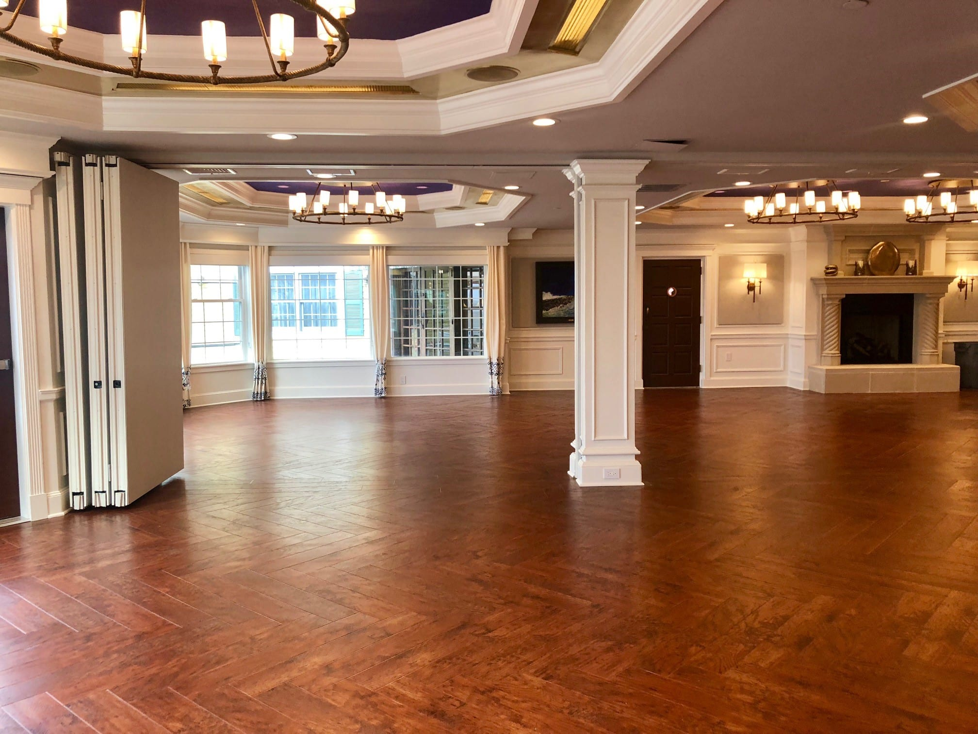 Lighthouse gallery event room.