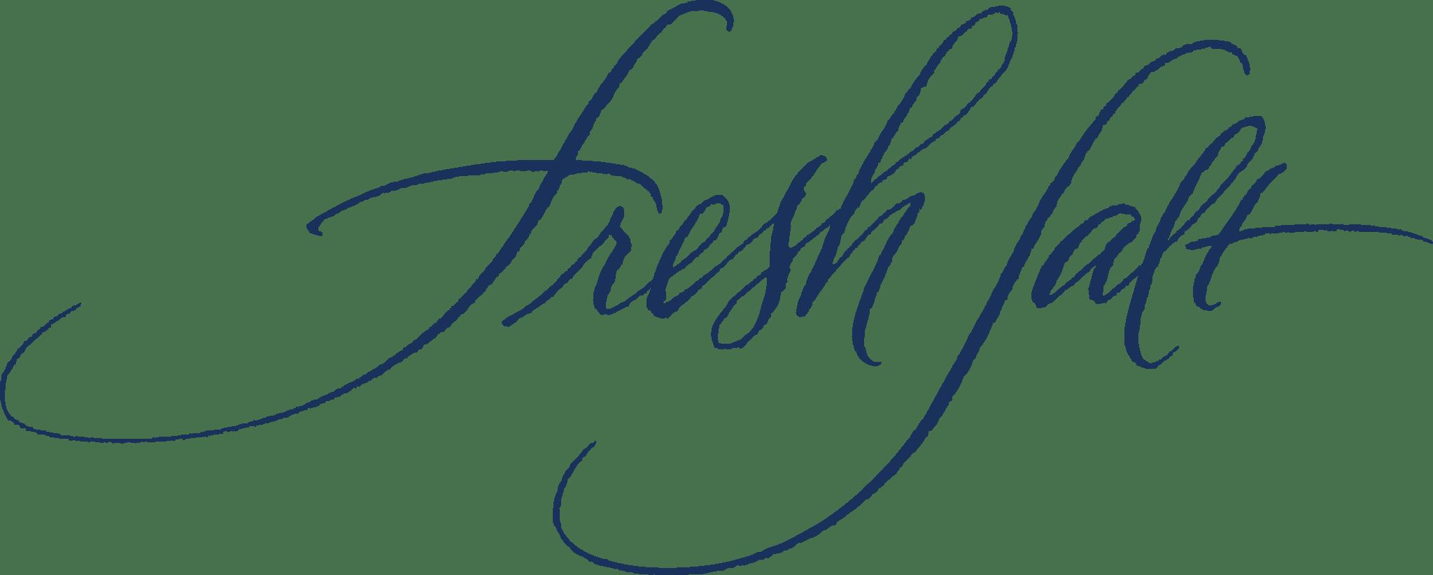 Fresh Salt restaurant logo.