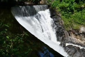 Waterfall in Norwich, CT.