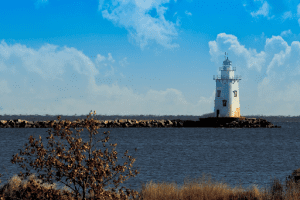 Old Saybrook Lighthouse in Connecticut.